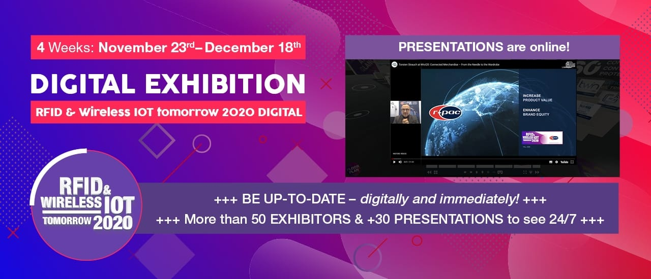 WIOTtomorrow20: Conference Lectures 'Live' at the Exhibition Booths