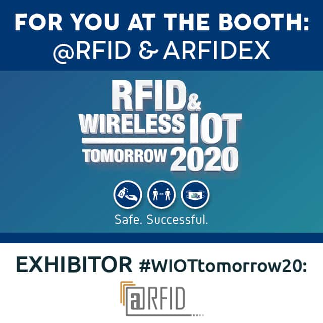 @RFID and arfidex bring IoT Sensors to #WIOTtomorrow20