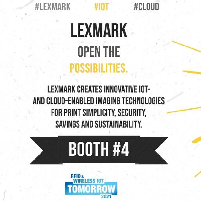 Lexmark: RFID-Laserdrucker und -Smart Labels auf der #wiottomorrow21
