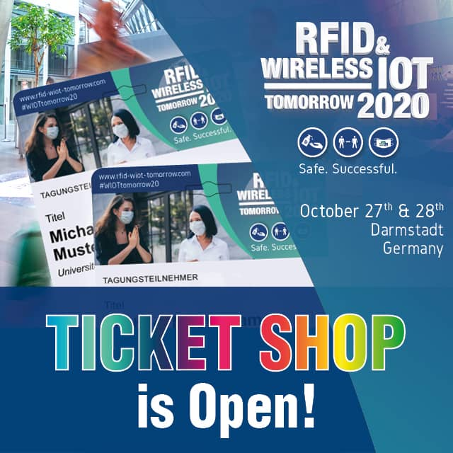 Business Live at RFID & Wireless IoT tomorrow 2020