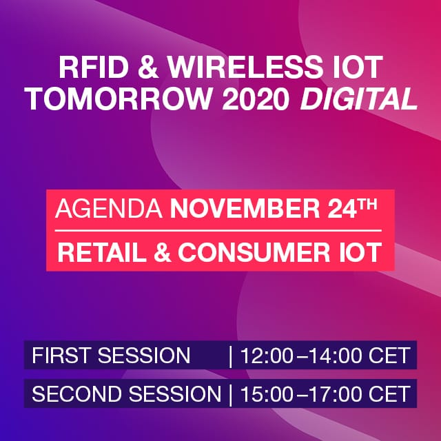 #WIOTtomorrow20 DIGITAL: Forum 2 – Retail & Consumer IoT