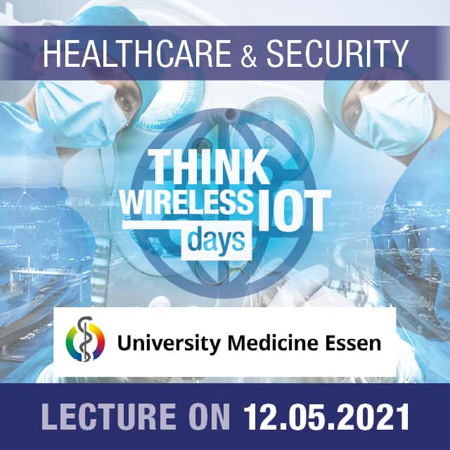 Universitätsmedizin Essen Presents SmartHospital.NRW – Think WIOT Day