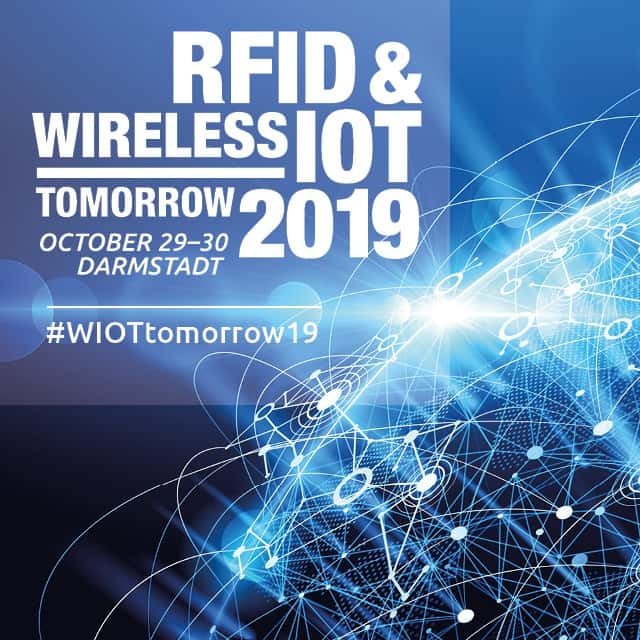 AI at RFID & Wireless IoT tomorrow 2019, Europe´s leading wIoT event.