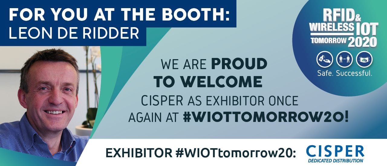 Cisper Exhibitor Once Again at the RFID & Wireless IoT tomorrow 2020
