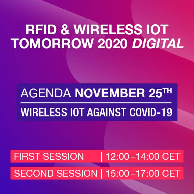 #WIOTtomorrow20 DIGITAL: Forum 3 – Wireless IoT Against Covid-19