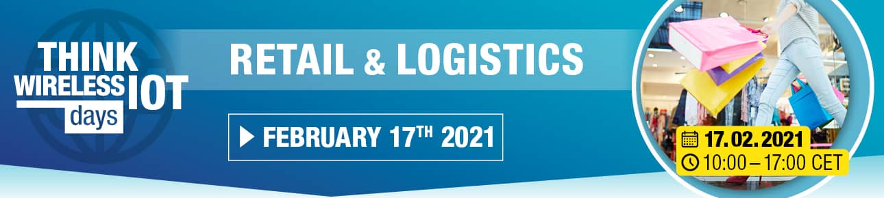 Think WIoT DAY 2021: Retail & Logistics