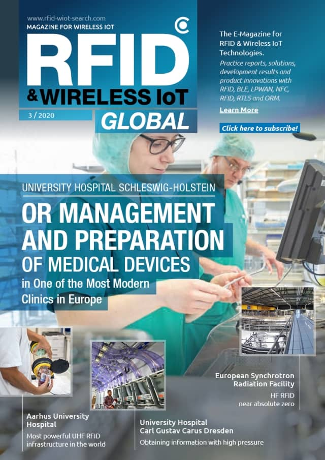 RFID & Wireless IoT Global: Issue 03/2020 Preview - The e-magazine about RFID & Wireless IoT