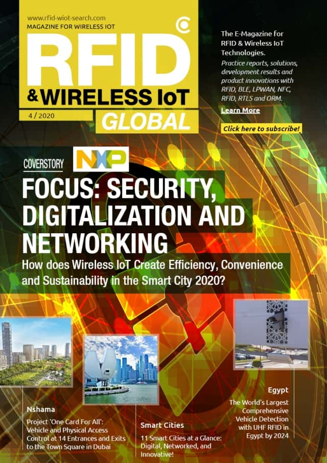 RFID & Wireless IoT Global: Issue 04/2020 Preview - Smart City, Security & Consumer IoT