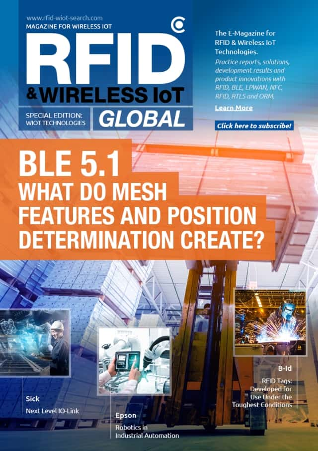 RFID & Wireless IoT Global: Special Edition Technology