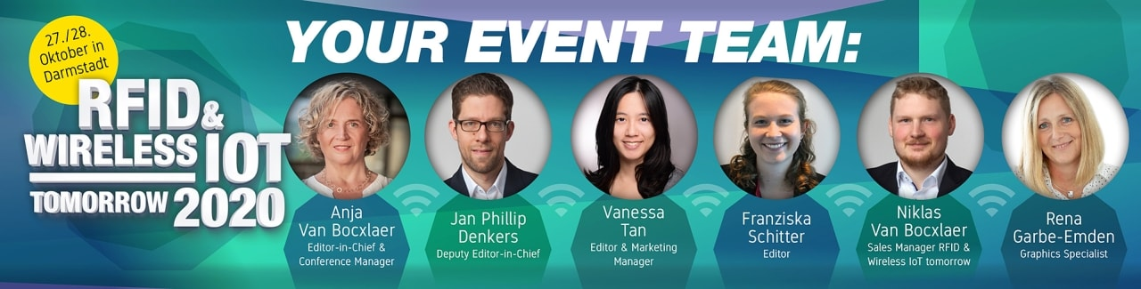RFID & Wireless IoT tomorrow 2020 Event-Team